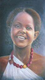 Shani Rufai with Paint