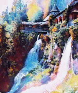 Waterfalls in Switzerland