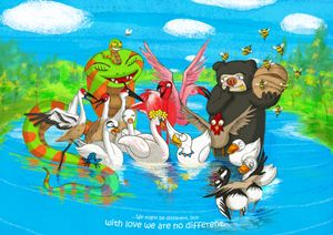 Duck Wisdom - Wong Jenn Ting's Art