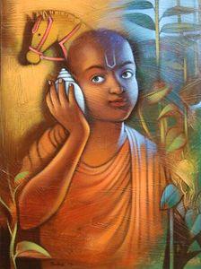 Boy with Shankha