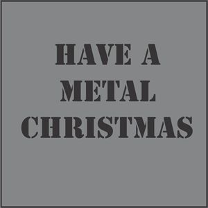 Simple Metal Christmas