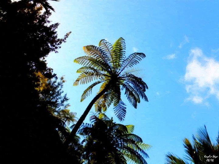 Fern in Summer Sky - Kaylie-Skye