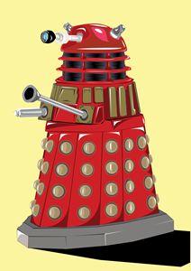 Unofficial Dalek Digital Artwork
