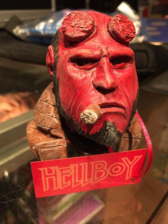 Unofficial Hellboy Figure - Luke Morgan