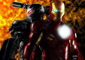 Unofficial Iron Man2 Digital Artwork