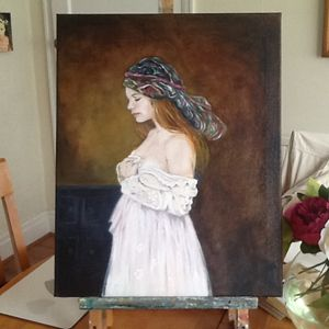 Russian Girl.  SOLD