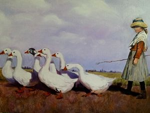 TO PASTURES NEW.   Sold
