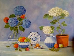 Just another still life.  Sold