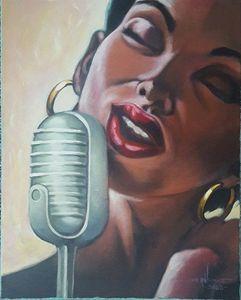 The Lady Sings