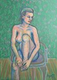 Drawing: Pastel on Paper