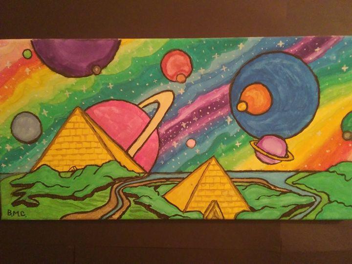 Galaxy's unknown - Conry's Art Studio