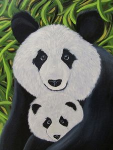 Mei and Liang - Melanie Lutes Art by Mel