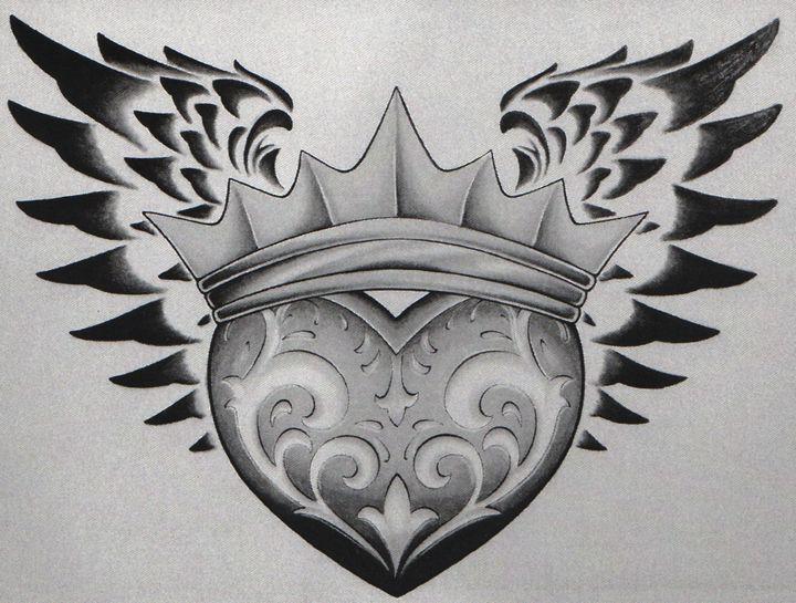Wing of hearts 10x13 - Randy Smith