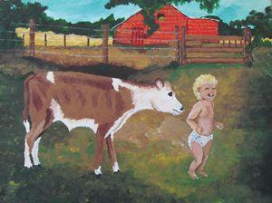 The Gentle Calf
