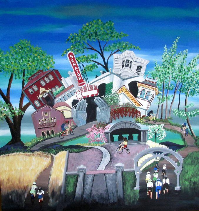 Whimsical Chico - EdieMarie's Art