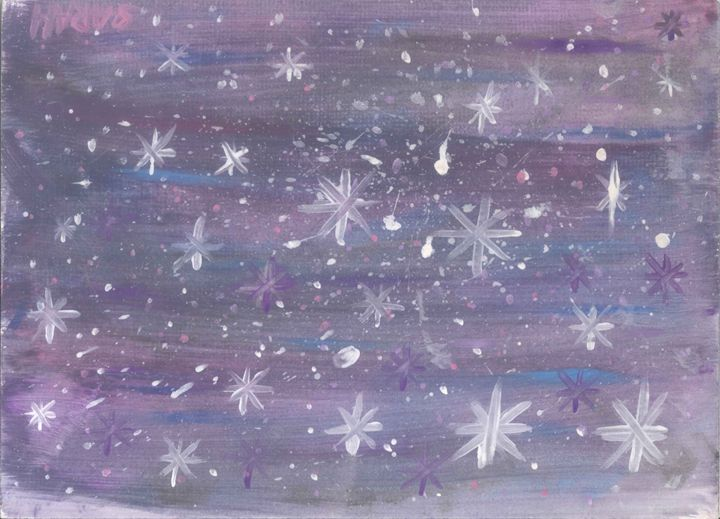 Stars in the galaxy - My paintings