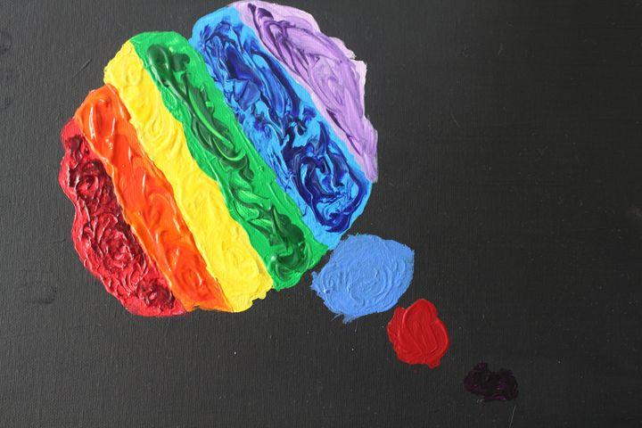 colorful thinking - Alicias Studio paintings