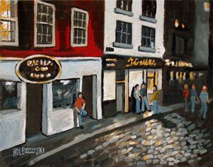 Temple Bar in Dublin   [SOLD] - Holewinski