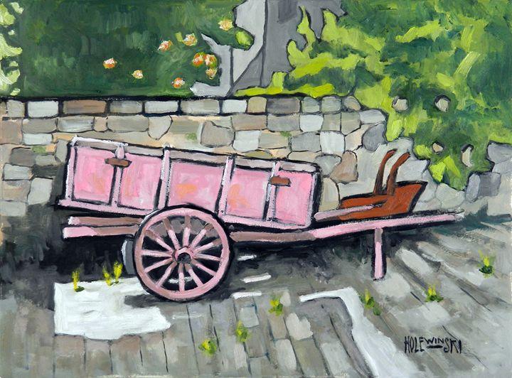 Old Cart in Florence - Holewinski