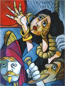 Esmeralda Being Hung - Holewinski
