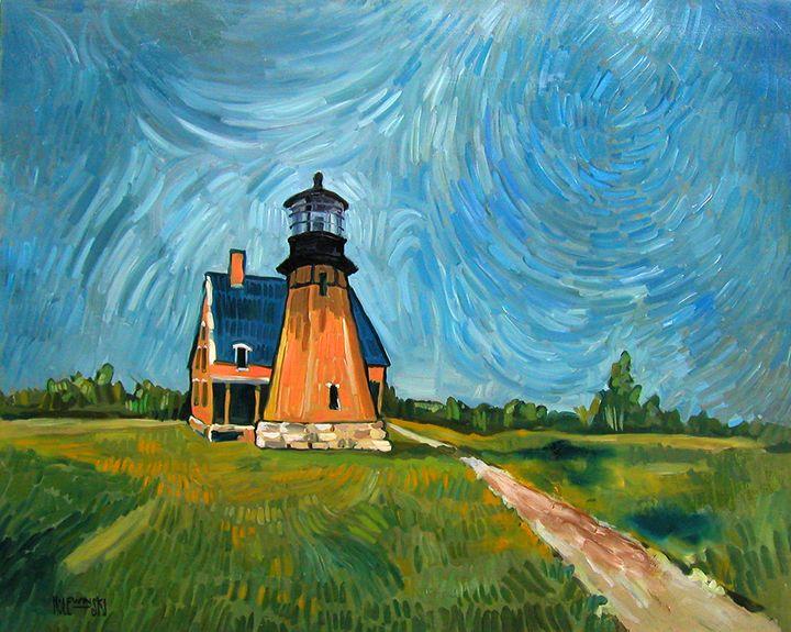 Block Island Lighthouse   [SOLD] - Holewinski