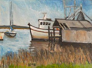 St Mary's Shrimp Boat - Holewinski