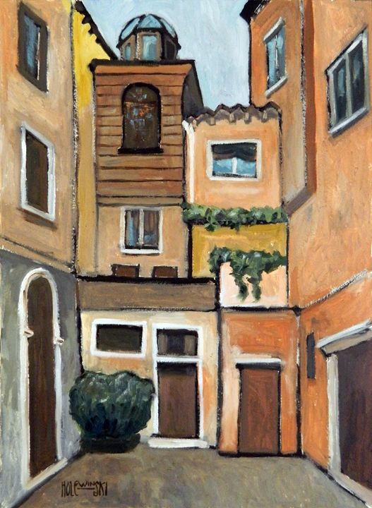 The Venetian Ghetto - Holewinski