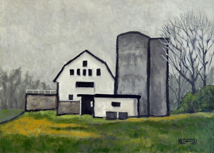 Vineyard Barn - Holewinski