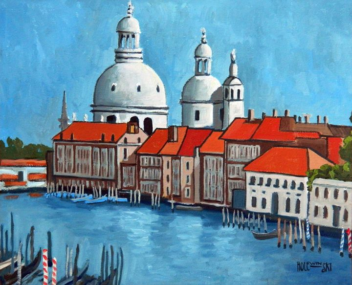 Canal Grande Venice - Holewinski