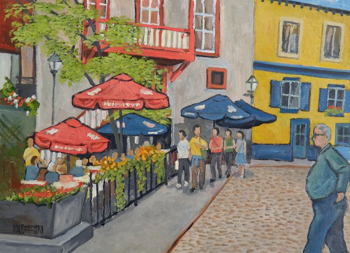 Canadian Street Cafe - Holewinski