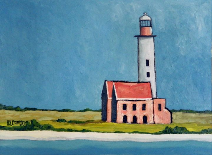 Abandoned Lighthouse - Holewinski