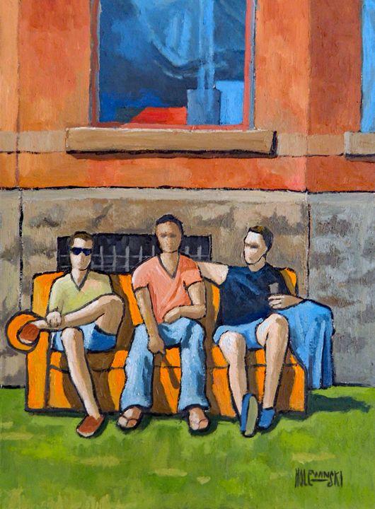 Three Fraternity Brothers - Holewinski