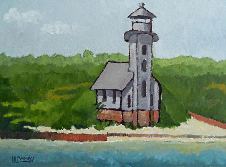 Clapboard Lighthouse - Holewinski