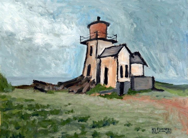 Ghost Lighthouse  {SOLD] - Holewinski