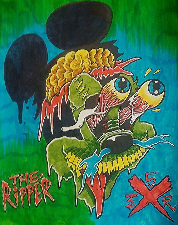 Boardwalk Scum (faded) - SquidzTheRipper