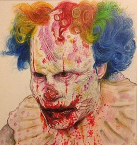 Clown horror