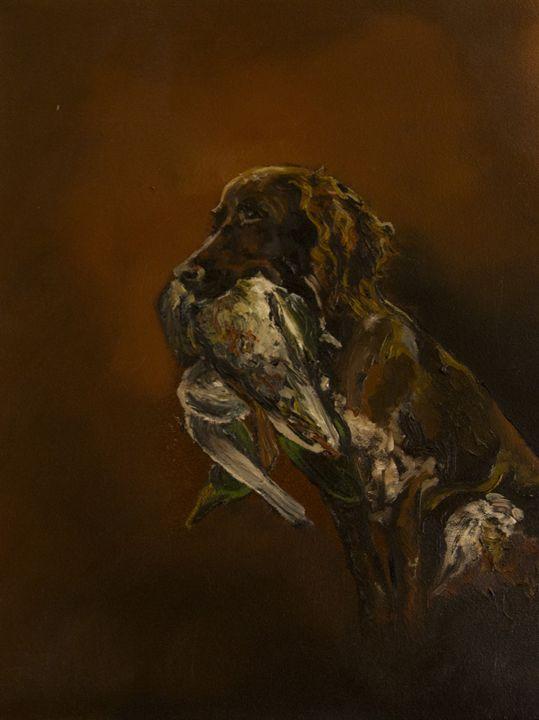 Hunting dog - Joyce Kleine