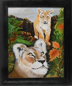 Lion & Cub/ Original $150