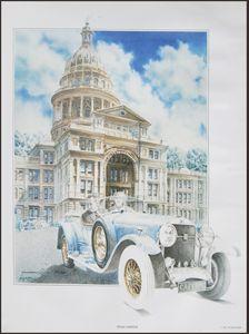Texas State Capitol Sam Houston LBJ - Zaplatar Art
