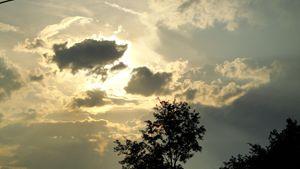 evenings sun