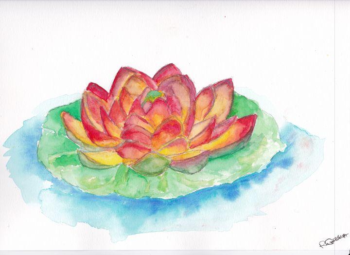 lotus flower - Cydney's art