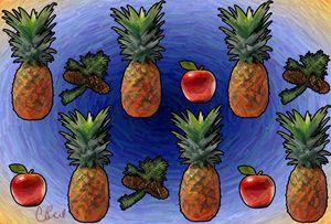 Pine Pineapple Apple - MannyBell