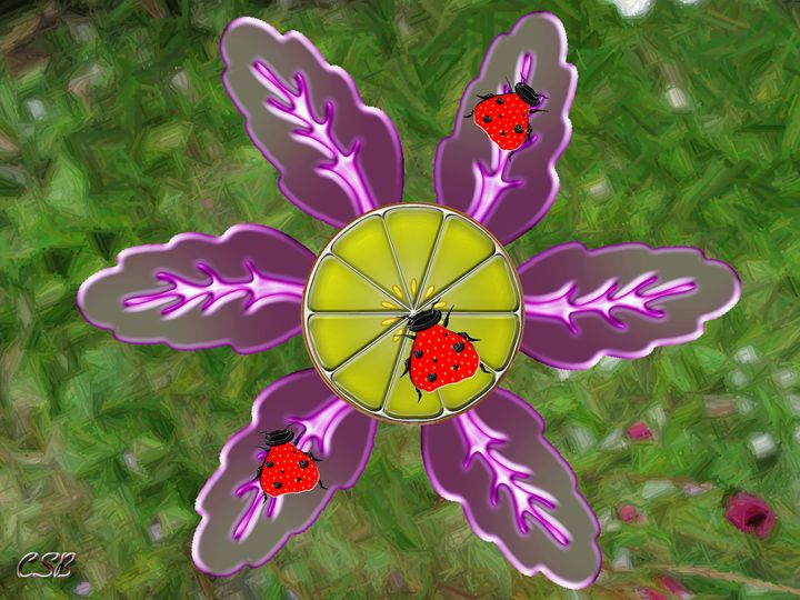 Strawberry Ladybugs - MannyBell