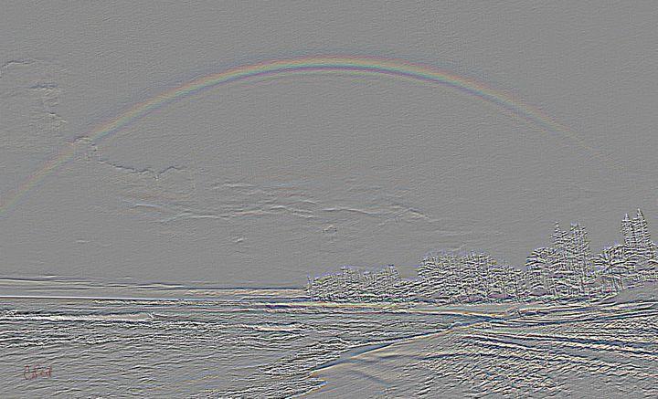 Rainbow Through the Gray - MannyBell
