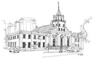 The Lutheran Church, Strand Street.