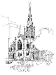 Church on Greenmarket Square.