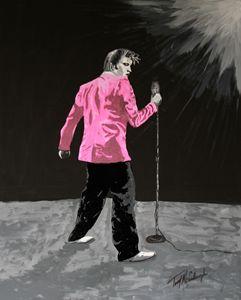 Elvis in Pink