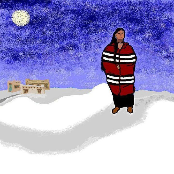 Winter Walk - C. K. Boyd Art