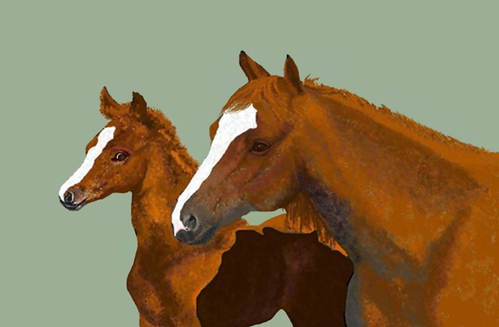 Mommy and Me - C. K. Boyd Art