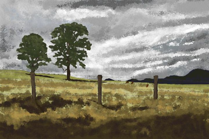 Approaching Storm - C. K. Boyd Art